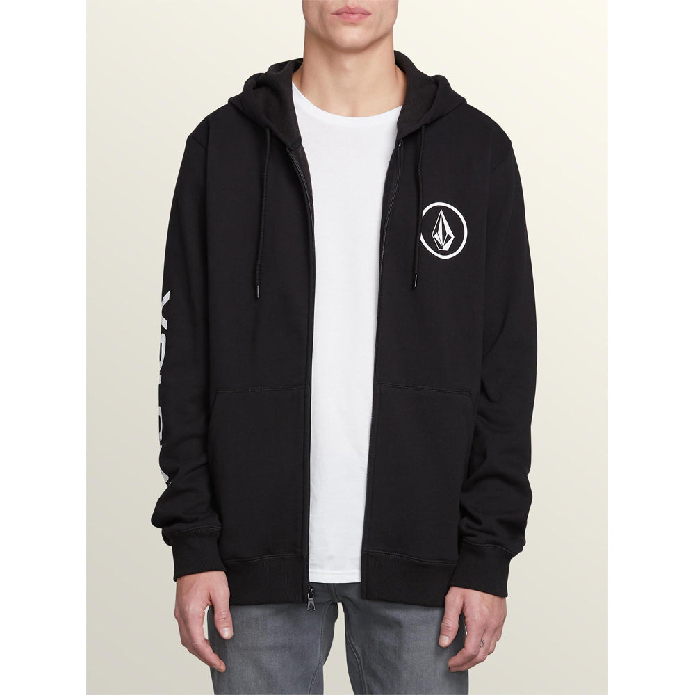 Volcom Stone Mens Full Zip Hoodies