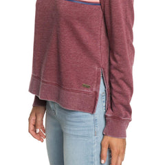 erjtf03864-rre0 roxy  true grace womens sweaters red