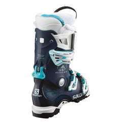 l39936500 salomon alp qst access 80 w top view womens boots navy/white