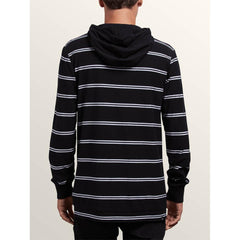 a0331804-blk volcom randall l/s hooded back view mens pullover hoodies black