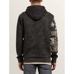 a4131814-blk volcom noa noise p/o back view mens pullover hoodies black