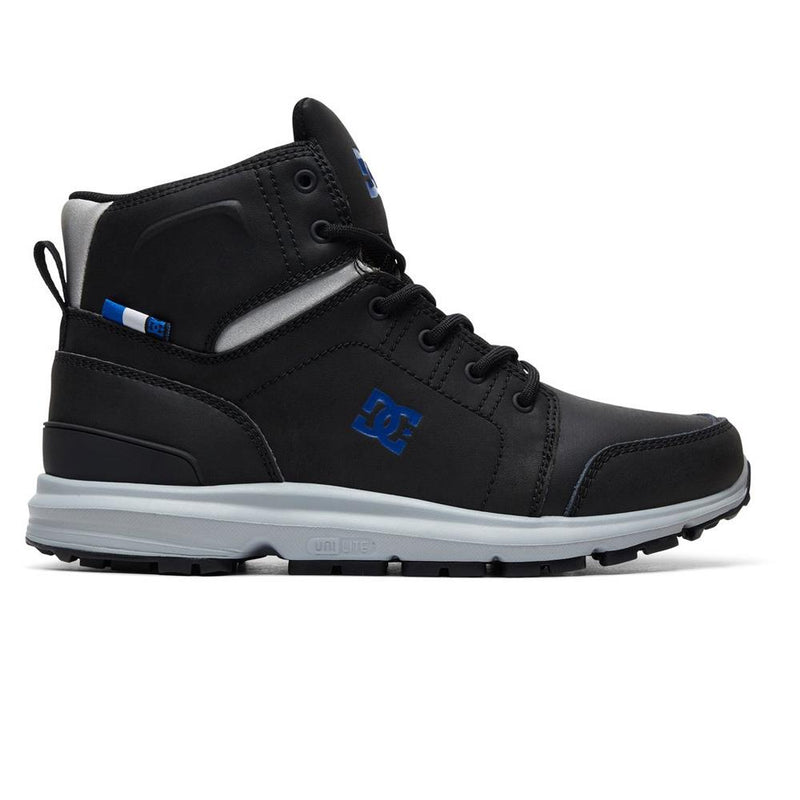 adyb700026-xksb dc torstein boot side view mens winter boots black/blue