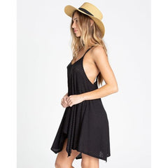 billabong twisted view 2 side view Sun Dresses black
