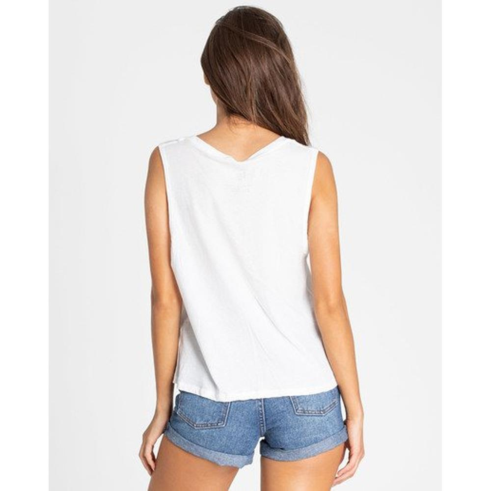 billabong stay chill back view Womens Tank Tops cool whip