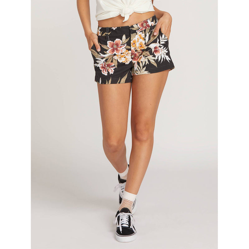 Volcom Frochickie Womens Fabric Shorts