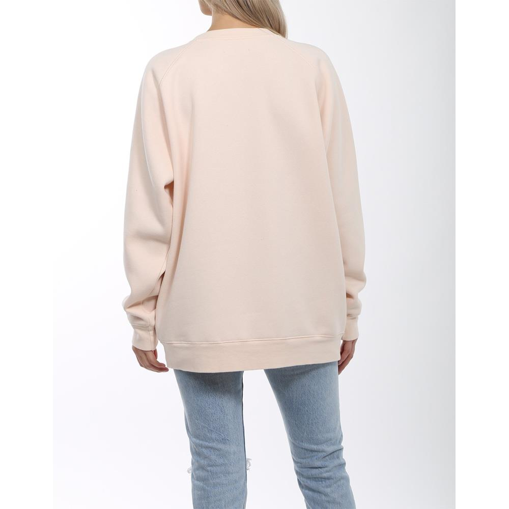 brunette uplift all babes big sister back view womens sweaters peach