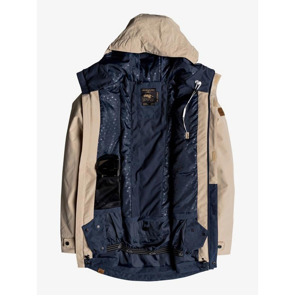 EQYTJ03177-TGL0, MOJAVE DESERT, TAN, BLUE, QUIKSILVER, HORIZON SNOW JACKET, MENS SNOWBOARD JACKETS, MENS OUTERWEAR, WINTER 2020