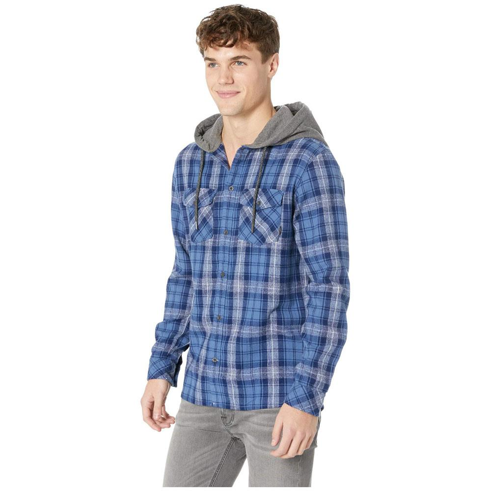 Quilsilver The Magston Long Sleeve Hooded Shirt
