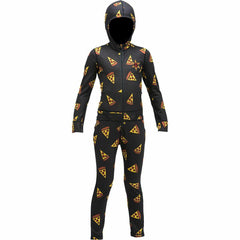 ab20knj1-piz Airblaster Youth Ninja Suit pizza front