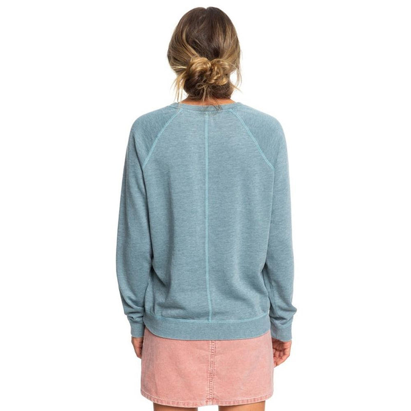 ERJFT04094-BLN0, TROOPER, BLUE, GREY, WISHING AWAY SWEATSHIRT, ROXY, WOMENS CREW NECK SWEATSHIRT, FALL 2019