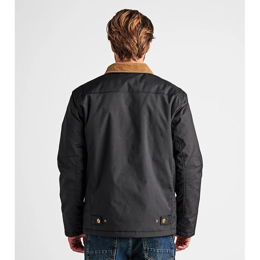 Roark, RJ196.BLK, Axeman Jacket, Mens Winter Jackets, Winter 2019, Back View