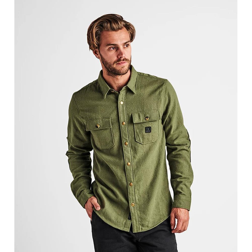 RW447.MIL,Nordsman Flannel LS Woven Shirt, Military, Mens Shirts, Fall 2019