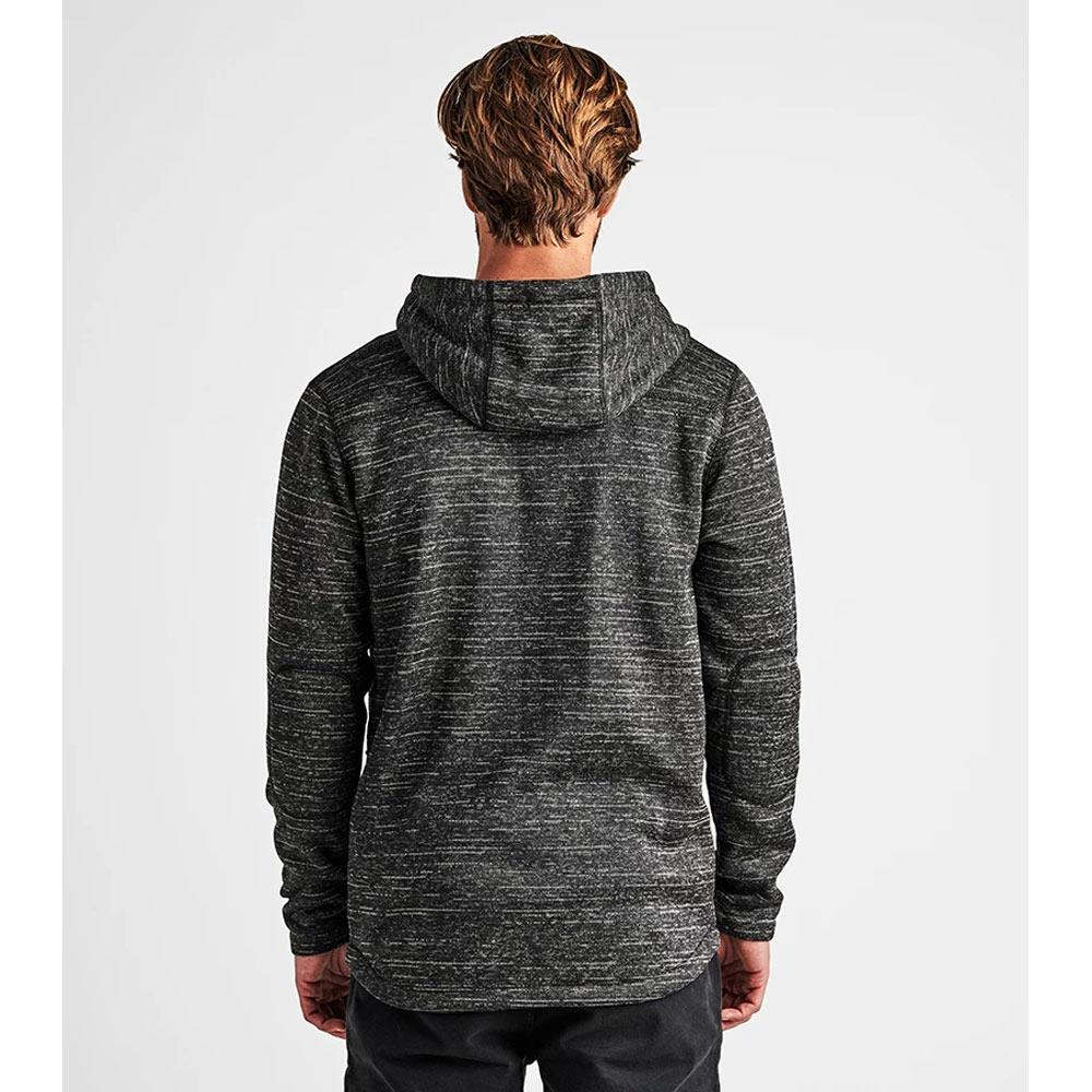 RF196.CHA, Roadrunner Performance Fleece, Roark, Mens Sweatshirts, Black, Heather Black, Fall 2019