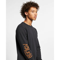 bq4159-010 Hurley Carhartt BFY Long Sleeve Tee black side