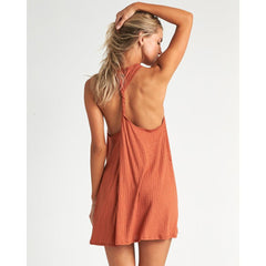 XV041BSA-HEN, Henna, Billabong,Sandy Sea Swim Cover Up, Womens Beach Cover Up, Womens Sun Dresses, Spring 2020, Rust, Orange