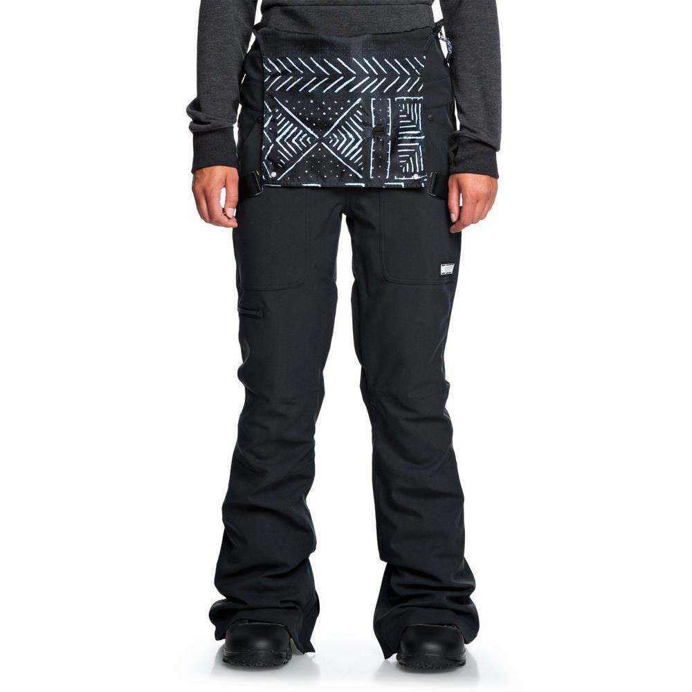 EDJTP03021-KVJ0, COLLECTIVE BIB SNOW PANTS, DC, WOMENS SNOW PANTS, WINTER 2020, BIB VIEW
