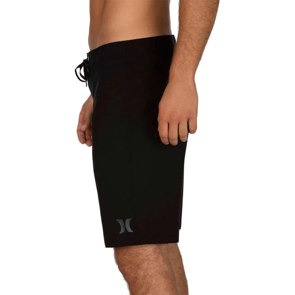 "CJ5117-010, Black, Hurley, ONE & ONLY 20"", Mens Boardshorts, Spring 2020,  side view"