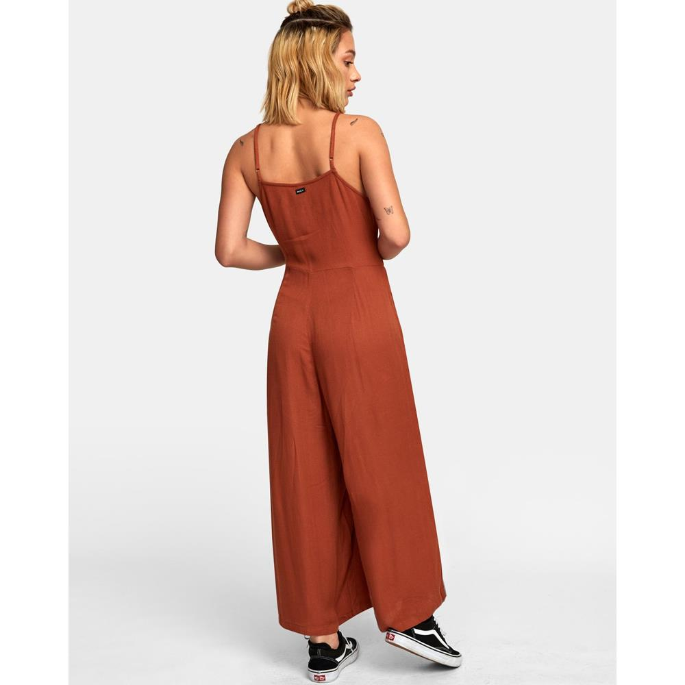 WN03WRIS, ISLAND WIDE LEG JUMPSUIT, SEQUOIA (SQO), womens jumpsuits, rvca, holiday 2019