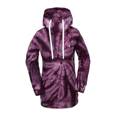 h2452006-puh Volcom Costus Pullover Fleece front view purple haze