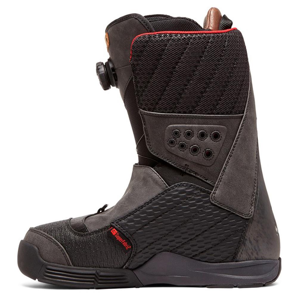 adyo100039-bl0 DC Travis Rice Mens Boa Snowboard Boots black side2 view