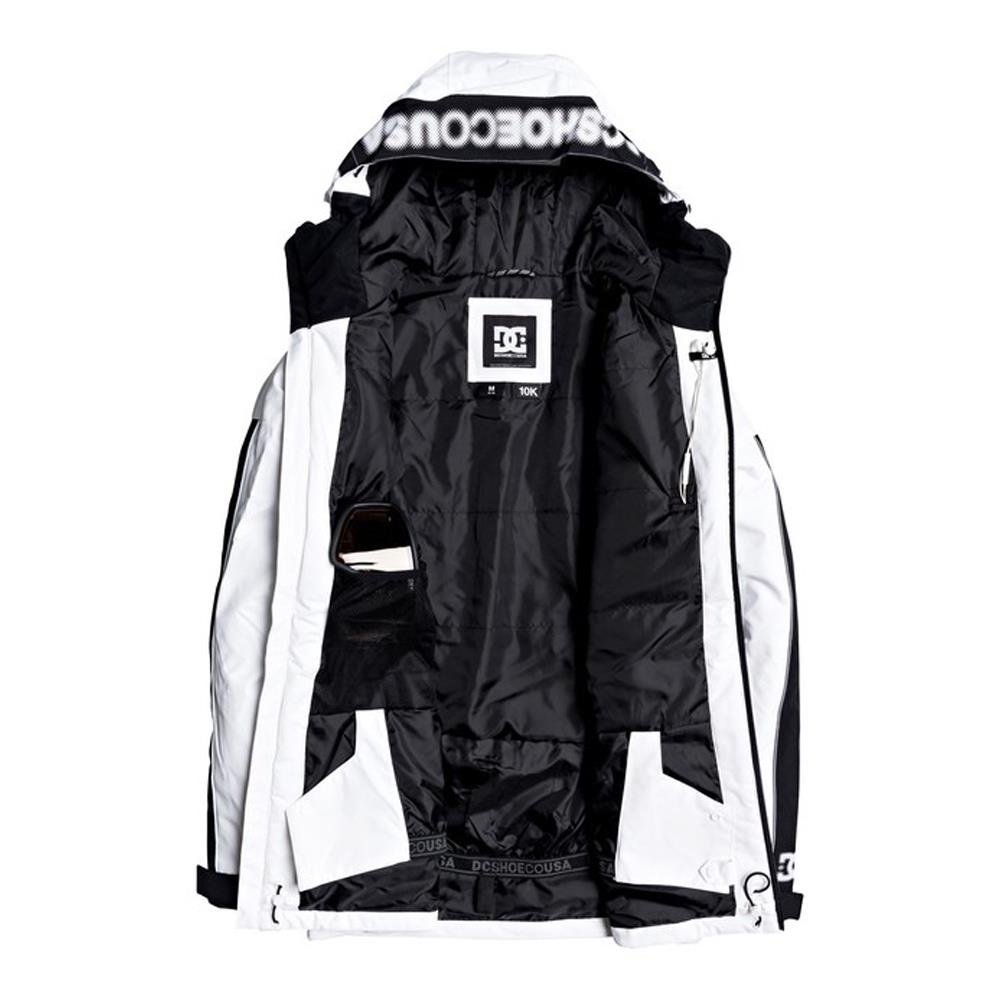 edytj03091-wbb0 DC Retrospect Snow Jacket white inside view
