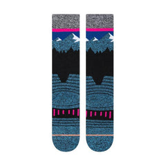 m758c19ril-blu Stance Ridge Line Socks blue back view