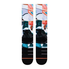 w758c19ass-wht Stance Astro Dog Socks white back view