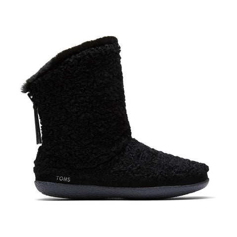 Toms Faux Plush Shearling Women's Inez Slippers