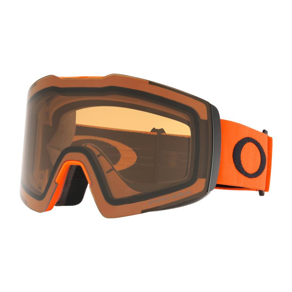 oo7099-04 Oakley Fall Line XL Snow Goggle neon orange black/snow persimmon side