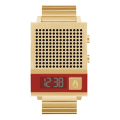 A1266-502-00, All Gold, Nixon, The Dork Too, Mens Metal Band Watches, Mens Watches, Winter 2019