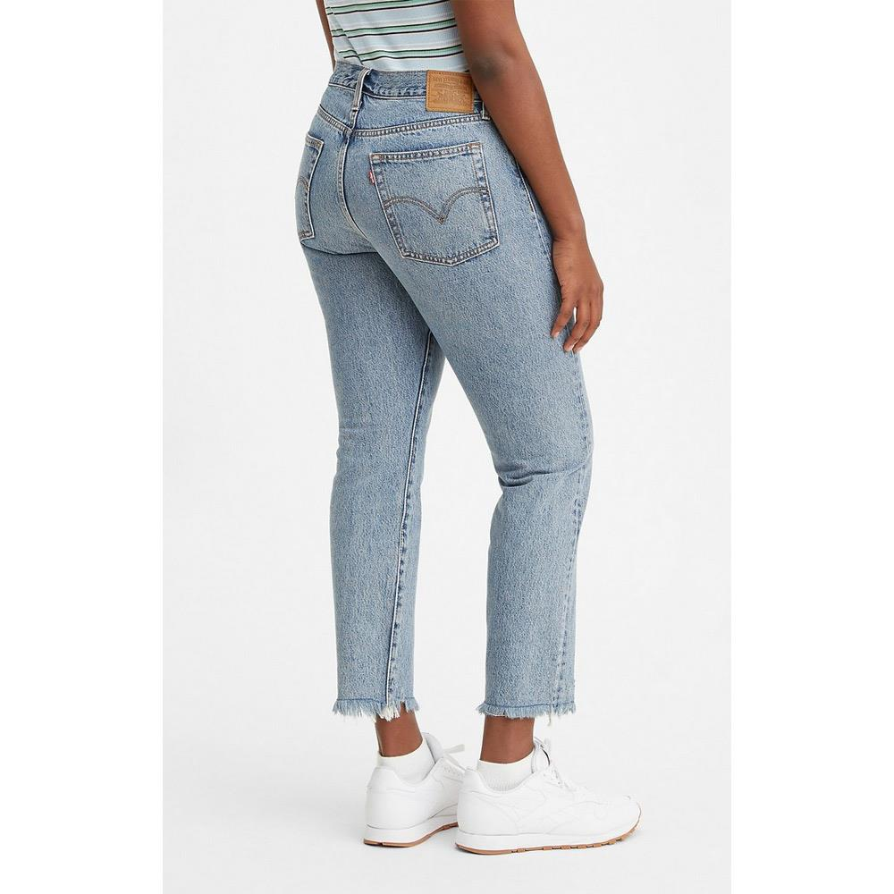 22861-0036, Shut Up, Light Blue Denim, Levis, Wedgie Icon Fit, Womens Jeans, Womens Straight skinny Jeans, Fall 2020