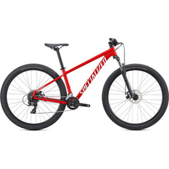 91520-7502-FLO RED/WHITE, Rockhopper, Mountain Bikes