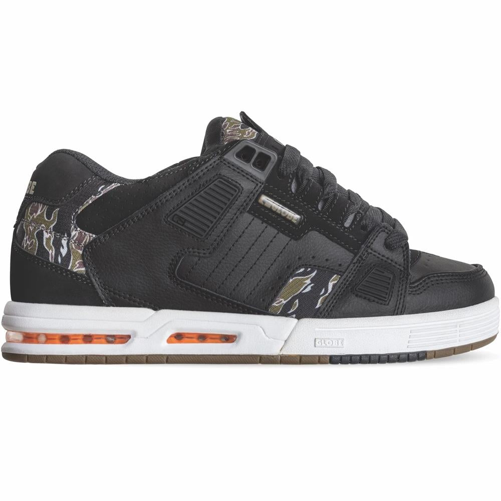 GBSABR-20426 Black/Tiger Camo, Globe, Mens Skate shoes,