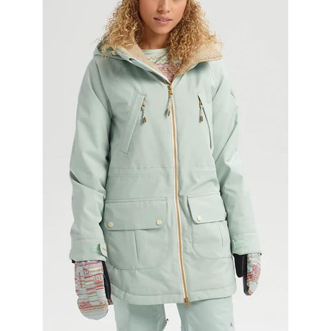 100831-06020 Aqua grey, Burton, Prowess Jacket, Womens outerwear, Snow 2020