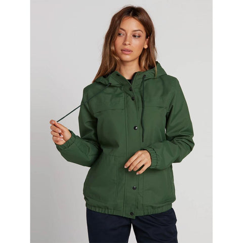 B1511800-GRN, GREEN, ENEMY STONE JACKET, VOLCOM, WOMENS JACKETS, FALL 2019