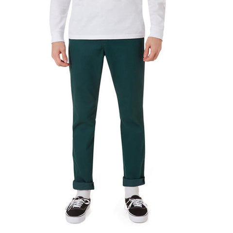 VN0A3143-TTZ, TREKKING GREEN, MENS AUTHENTIC CHINO STRETCH PANTS, MENS PANTS, FALL 2019