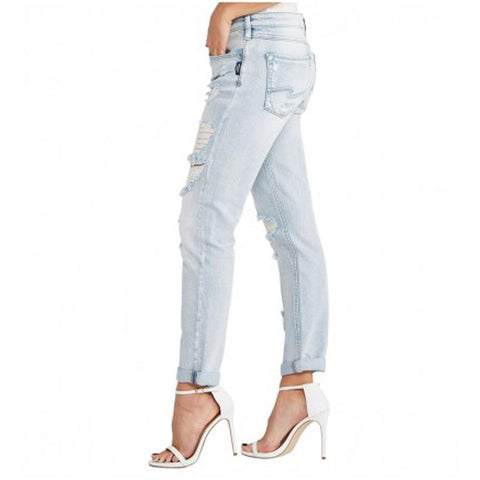 Silver Jeans Delancey Ankle Womens Slim Jeans