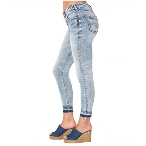 Silver Jeans Avery Ankle Womens Skinny Jeans