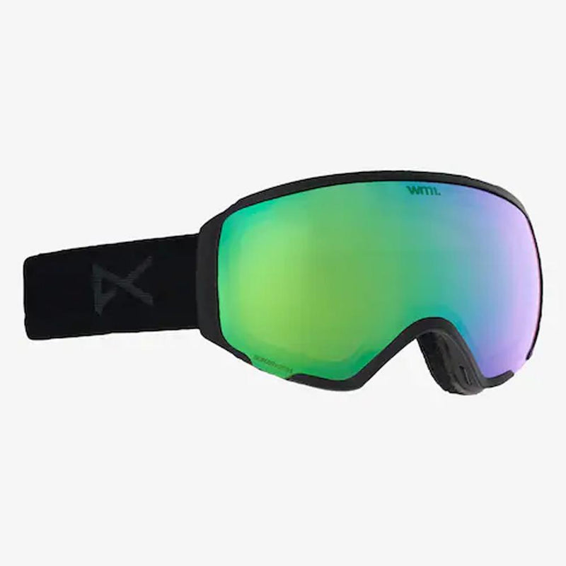18561101098, SMOKE/SONAR GREEN, WOMENS ANON WM1 GOGGLE + SPARE LENS, WOMENS GOGGLES, WINTER 2020