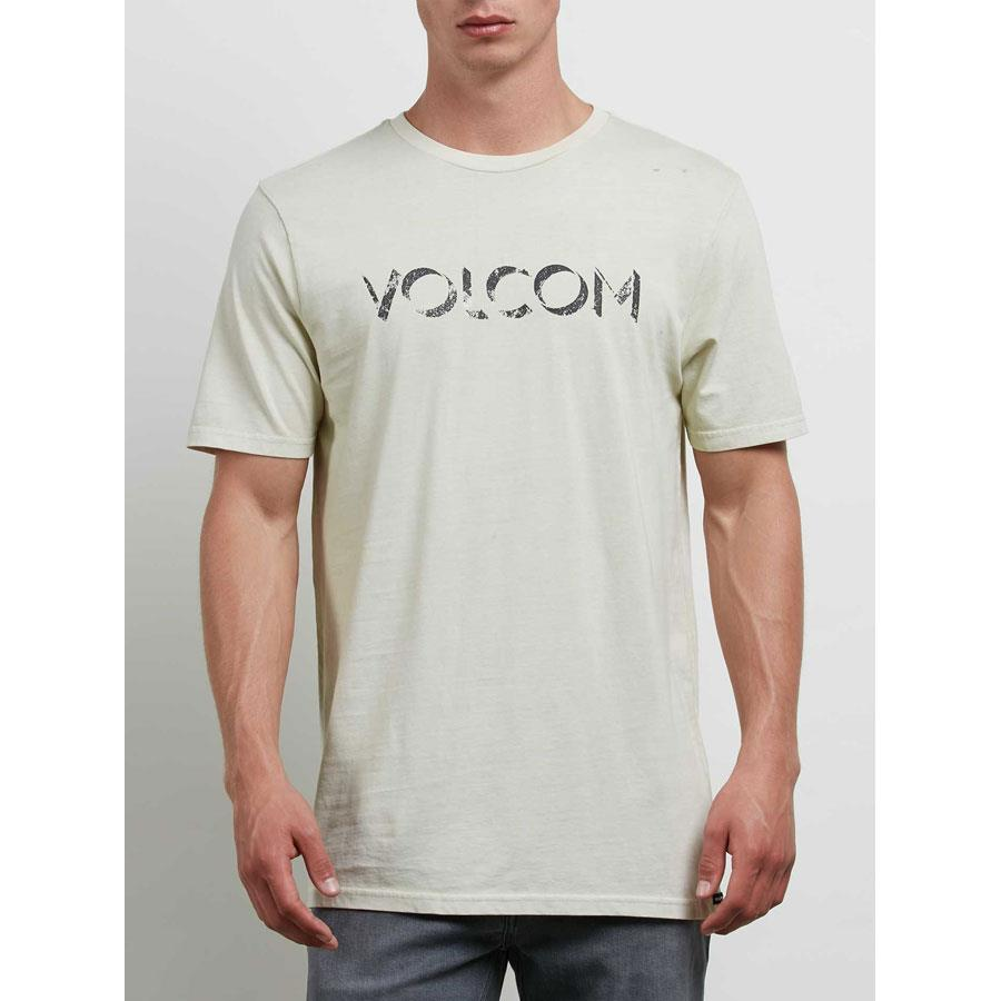 volcom shadow block short sleeve front view mens t-shirts short sleeve shirts off white