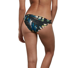 volcom lost marbles hibster backview bikini bottoms black