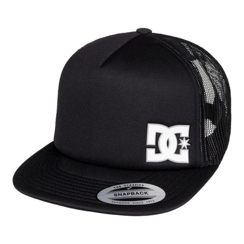 dc madglads trucker hat boys front view youth hats black
