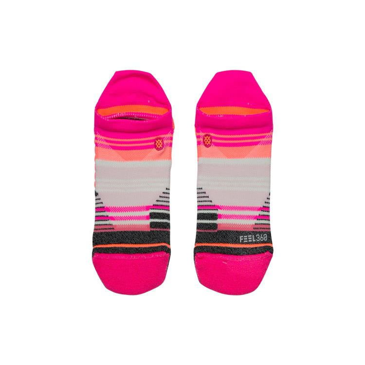 stance training siella tab socks top view womens socks pink w257a18sie-pink