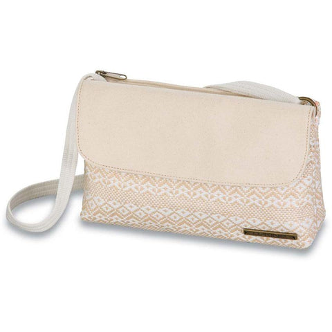 dakine jaime bag front view womens purses oatmeal 610934215755-sand dollar
