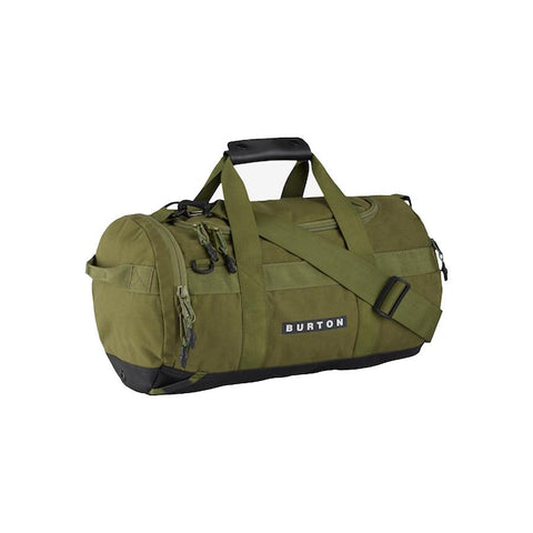 burton backhill duffle bag 25l overall view duffle bags olive 1668410271