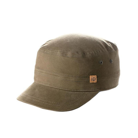 ten tree cadet cap side view mens hats green uhcad-grn