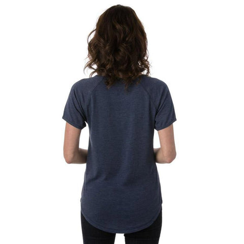 ten tree leaf ten tee back view womens short sleeve shirts blue wjlea-blu