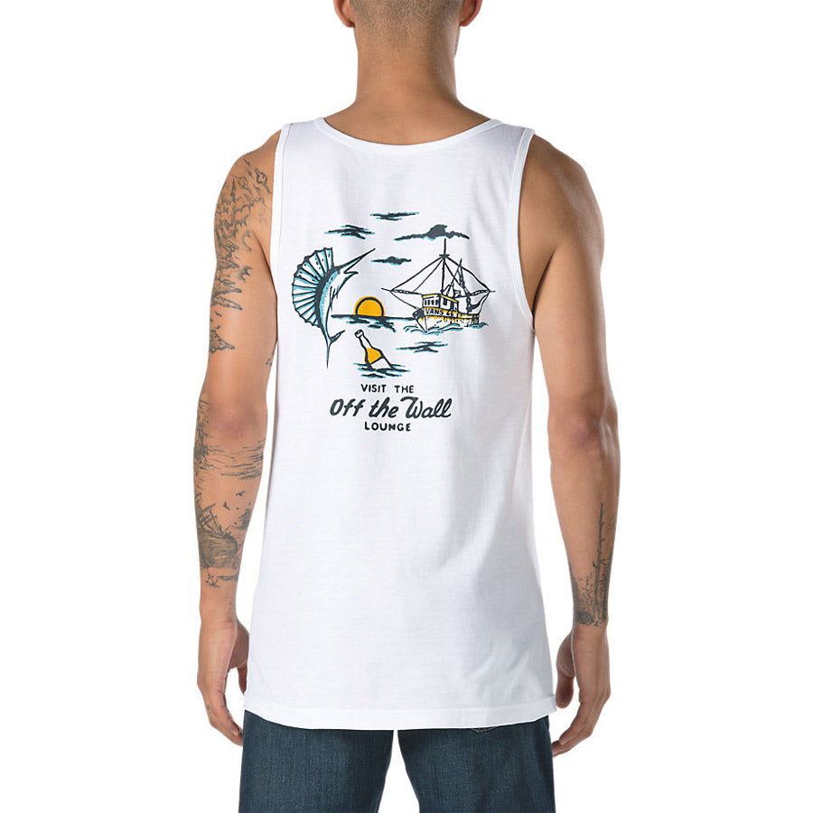 VANS OFF THE WALL LOUNGE TANK IN MENS TANK TOPS AND JERSEYS - T-SHIRTS - MENS