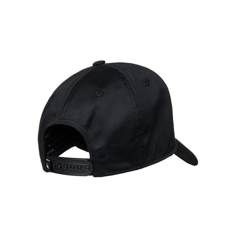 quicksilver decdes snapback hat boys back view toddlers hat black aqkha03151-kvj0