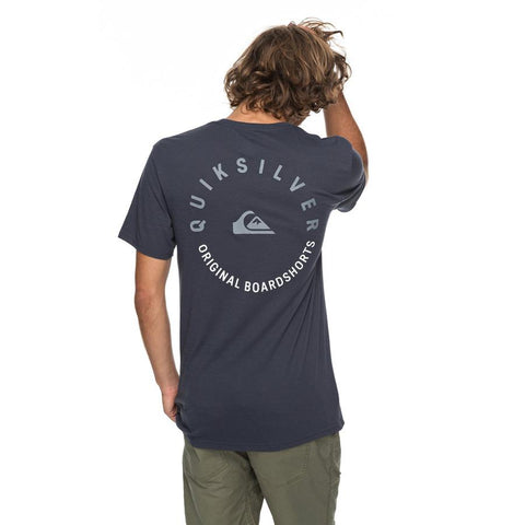quicksilver camino technical tee back view mens t-shirts short sleeve navy blue aqyzt05195-bst0
